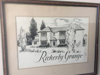 Painting of Rickerby Grange