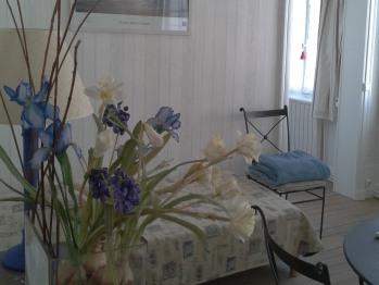 """Appartement """"Les deux ponts"""" 1er étage (douche)"""
