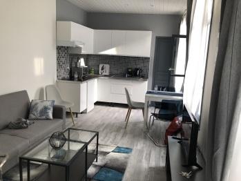 Appartement-Suite-Salle de bain et douche-Vue sur Jardin