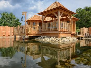 Cabane-de Luxe-Salle d'eau-Vue sur Montagne