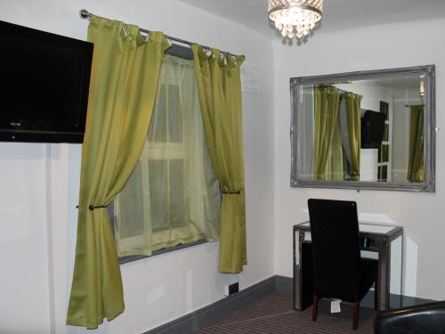 Our double suite with a tremendous view of the Pleasure Beach
