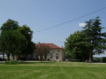 View of main house