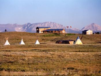 Blackfeet Tipi Village
