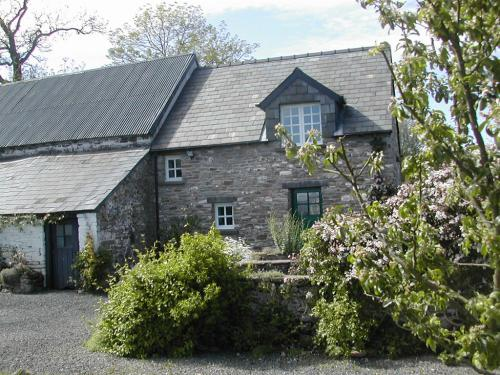 Damson Cottage in springtime