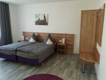 Apartment-Doppelzimmer-Komfort-Ensuite