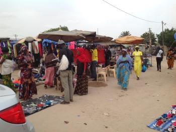 Le marché Mardi