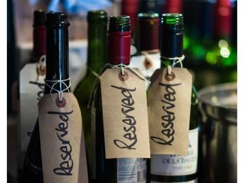 Reservation bottles