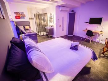 Double-de Luxe-Salle de bain Privée-Vue sur Jardin-FACTORY - 2ème étage