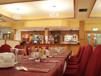 Our busy function room