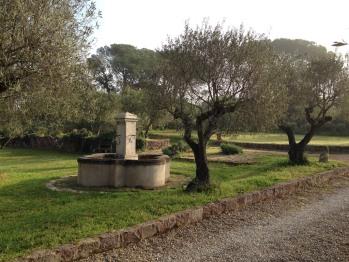 entrée fontaine