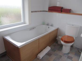 Family room bath ensuite