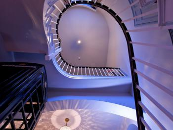 Our magnificent spiral staircase