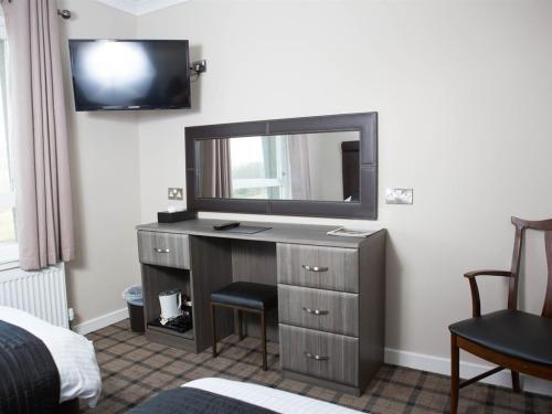Hospitality Dresser/ Work Desk/ TV/ Mirror