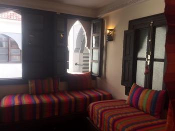 chambre abja vue des sofas