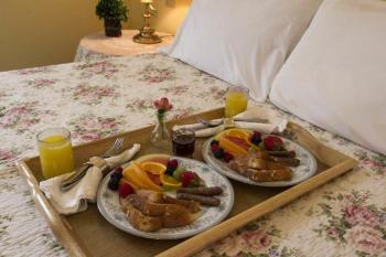 In-Room Breakfast Service at the Rochester Inn