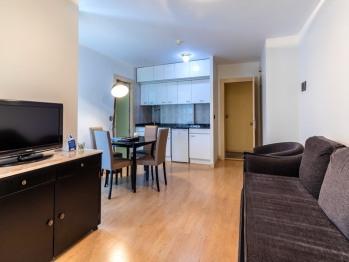 Apartamento de 1 dormitorio (3 adultos)