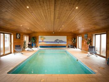 Lovely indoor heated swimming pool