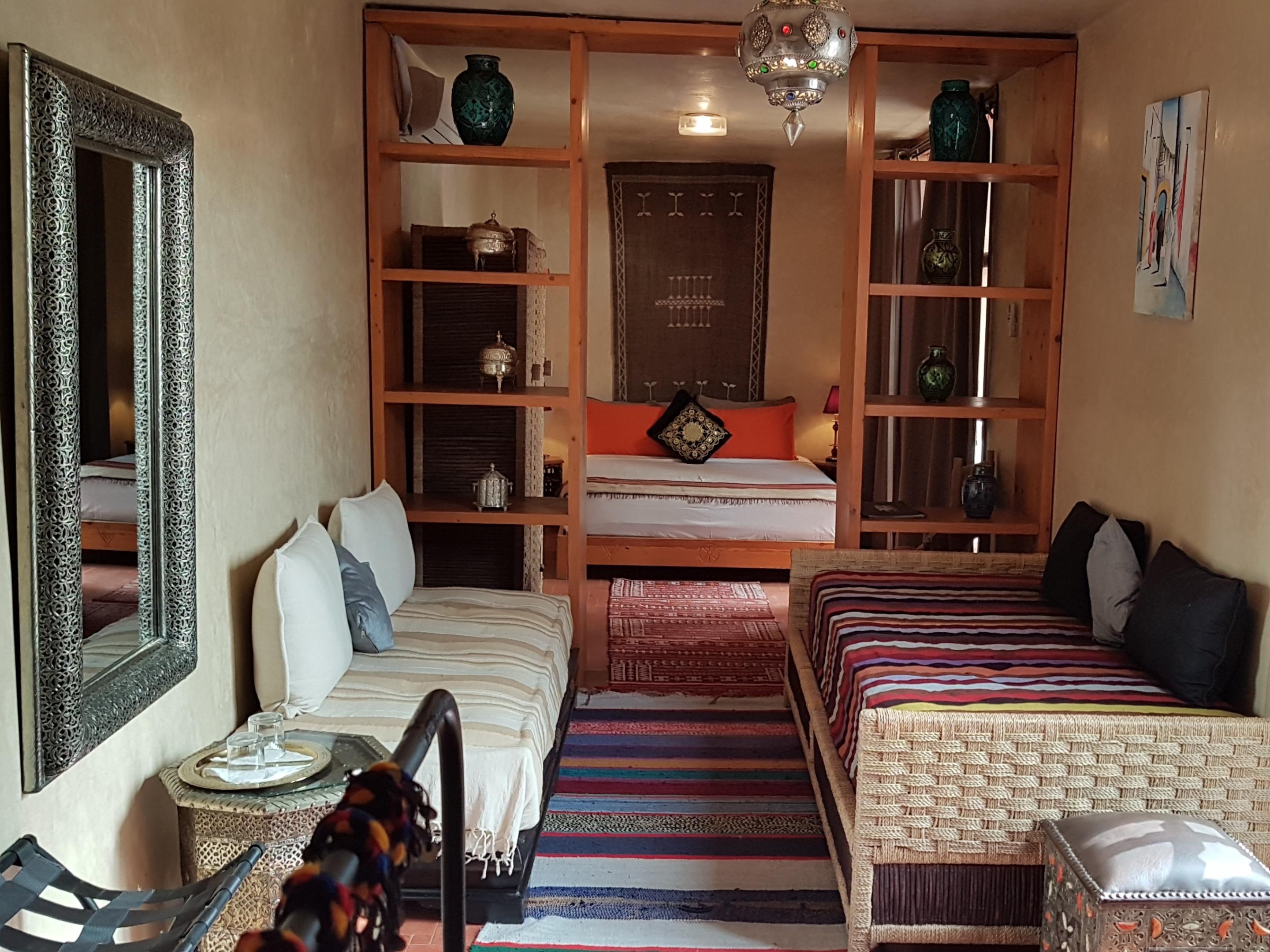 Djebel-Suite-Confort-Salle de bain-Terrasse