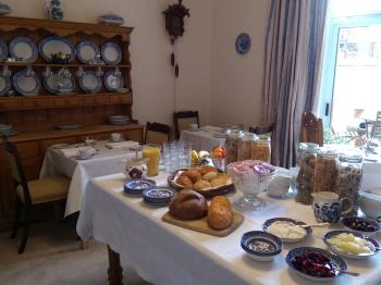 The breakfast Room at Lochinver Guest House