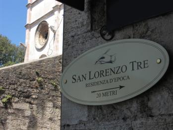 Residenza d'Epoca San Lorenzo Tre,  a  solo 20 metri dal Duomo di Todi