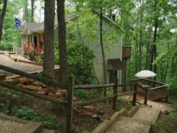 Hillside Lodge in early summer.
