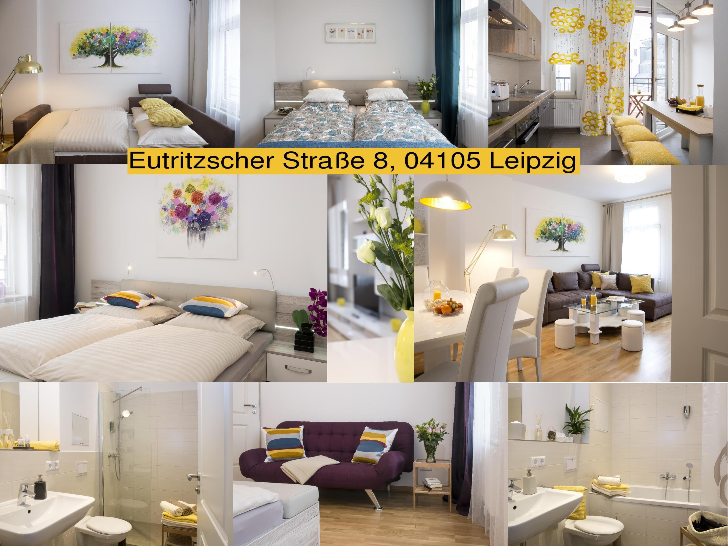 Apartment-Executive-Eigenes Badezimmer-Eutritzscher Straße 8 - Basistarif