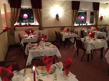 The County Hotel Kendal - Restaurant Christmas Set up