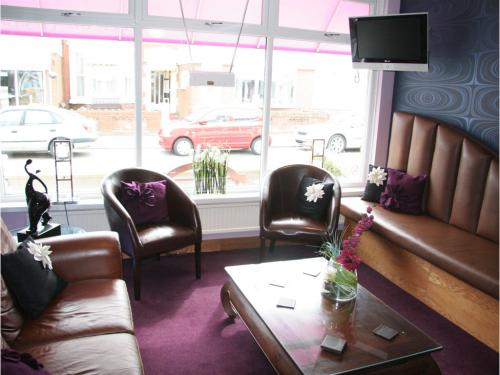 Our relaxing lounge where you can have a drink and chat