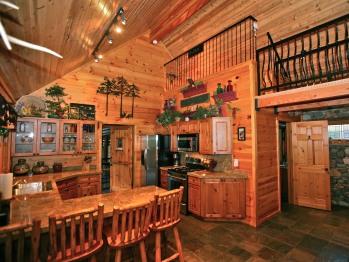 Huckleberry House kitchen