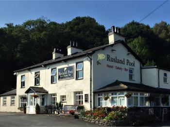 The Rusland Pool Hotel - Front of the Rusland Pool Hotel
