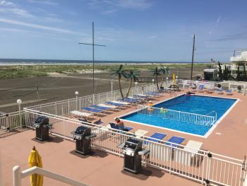 Beach, Pool and Barbecue/Picnic Area Views from 2nd floor