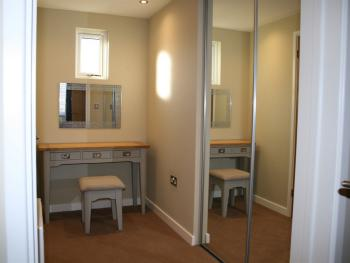 A typical Dressing Room in a Selby Superior