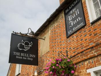 The Bull Inn Pub - front of pub