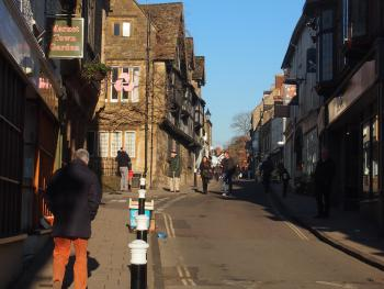 A view of Cheap Street, Sherborne