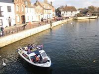 St Ives Electric Riverboat