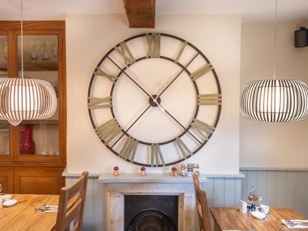 CLOCK IN DINING ROOM