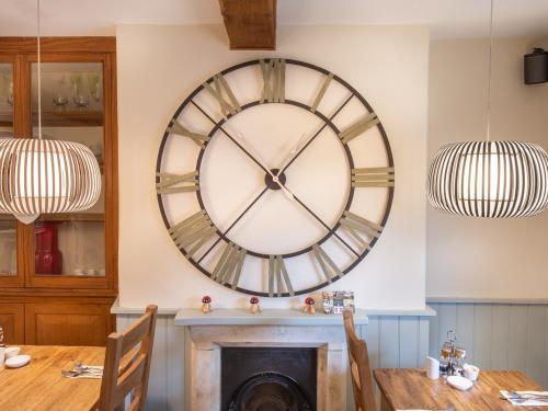CLOCK IN DINING ROOM