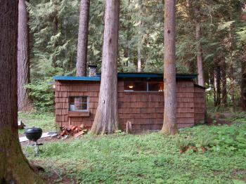 Cabin-Ensuite with Shower-Cottage-Woodland view-Stepping Stone Tahoma