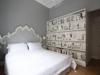 Matrimoniale-Lusso-Bagno in camera con doccia-Vista città