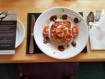 light cooked breakfast