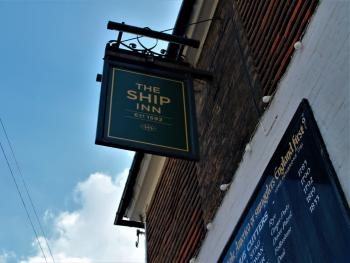 The Ship Inn Sign