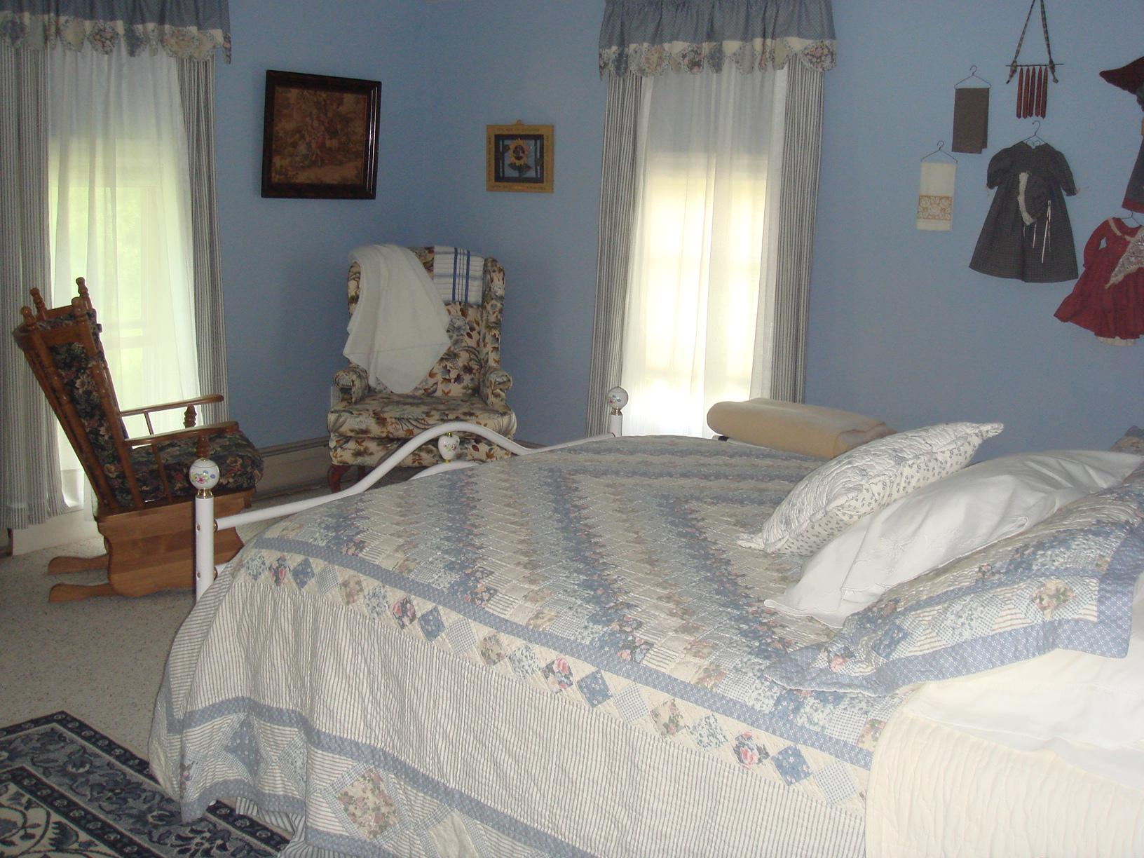 Double room-Private Bathroom-Queen-Countryside view-Whitlock Room