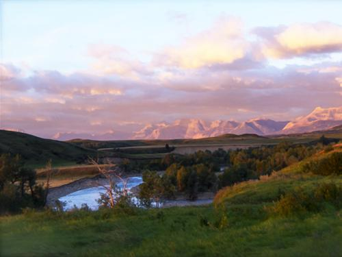 Sunrise at Waterton River Suites