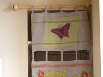 Chambre aux Papillons, la penderie