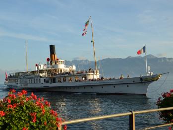 Ne manquez pas de faire le tour du Haut-Lac avec les bateaux de la CGN