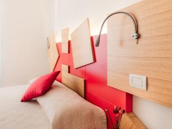 Dettagli stanza Rossa