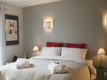 Double ou Twin-de Luxe-Salle de bain-Terrasse-Deluxe room