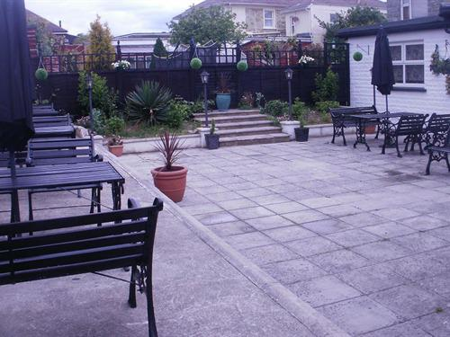 Rear Patio Area