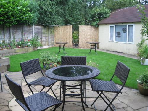 You are welcome to enjoy our Patio seating and Rose Tea Garden when the weather is fine