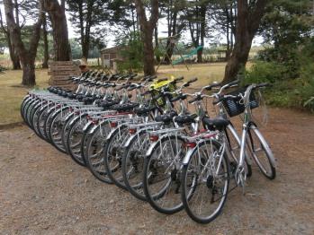 L'accueil vélo